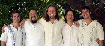 Semillas Group (left to right): Steven Karr, Michael Newton, Chris Mann, Alex Pryor, David Karr.